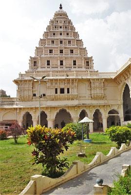 Der Königspalast in Thanjavur...