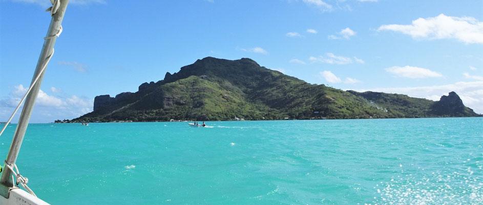 Die Hauptinsel.