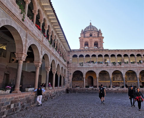 Das ehemalige Dominikaner-Kloster Qorikancha.