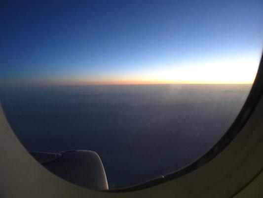 .....und dem Sonnenaufgang.