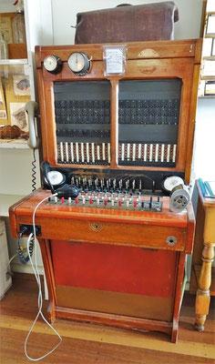 Die alte Telefonzentrale.....