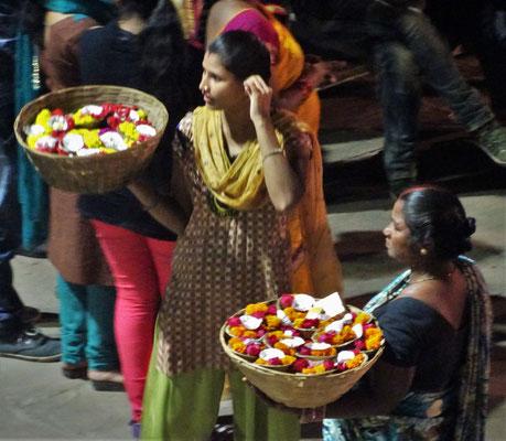 ...die Blumenverkäuferin..