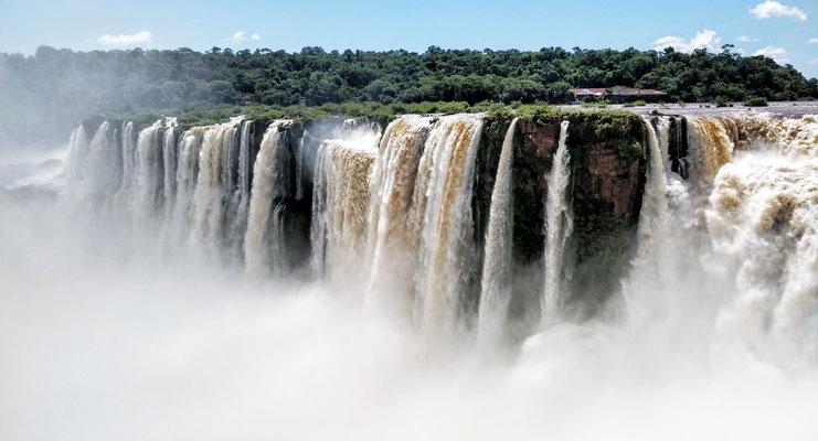 Das I von Iguazu steht für Wasser.....