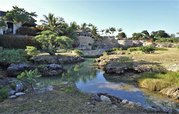 Das Evergreen Resort in Tanna....