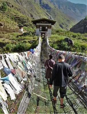 ...in Bhutan aus....