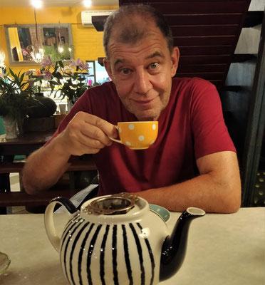 Danach ein Täschen Tee.....