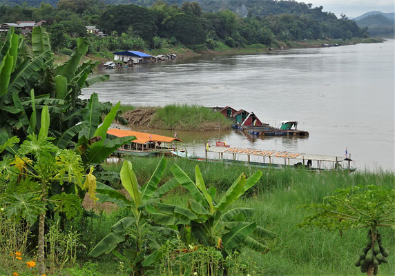 Der Mekong am Tag.....