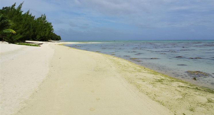 """Der """"überfüllte"""" Strand."""