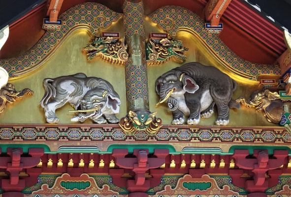 Dieser Künstler hat wohl noch nie einen Elefanten gesehen.