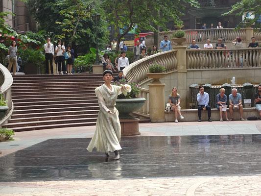 Öffentliche Tanzvorführung.....
