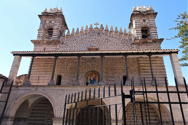 Die Kirche des Dominikaner-Orden....