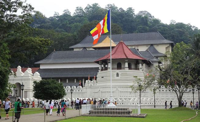 Der Zahntempel des Buddha.