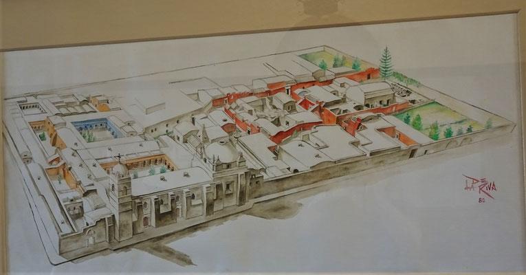 Das Santa Katalina Kloster.....