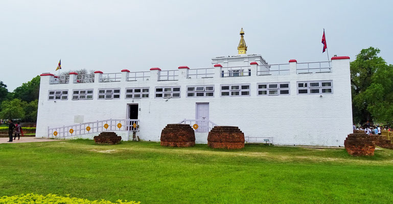 Buddhas Geburtshaus...