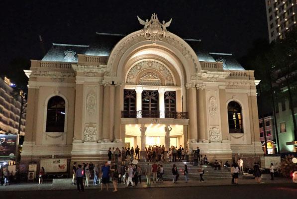 Das Opernhaus......