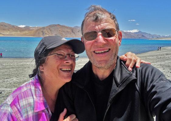 ...ein Selfie vor dem See...