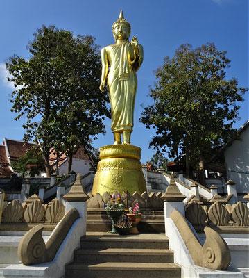 ....zum laufenden Buddha.....