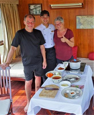 Kochkurs mit Thong dem Küchenchef.