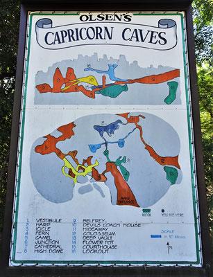 Die Capricorn Caves die von der Fam. Olson.....