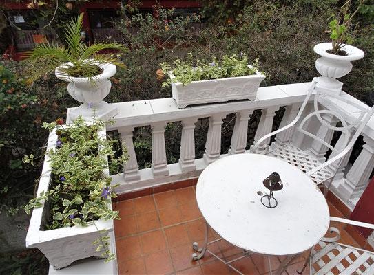 Unser Balkon und....