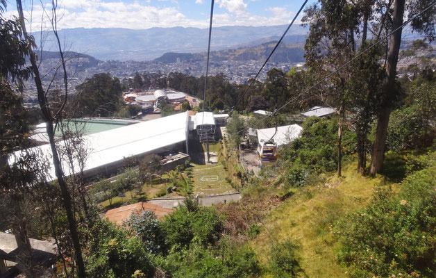 Unser Ausflug auf den Pichincha....