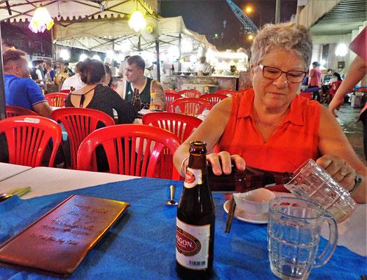 Das Saigon Bier und.....