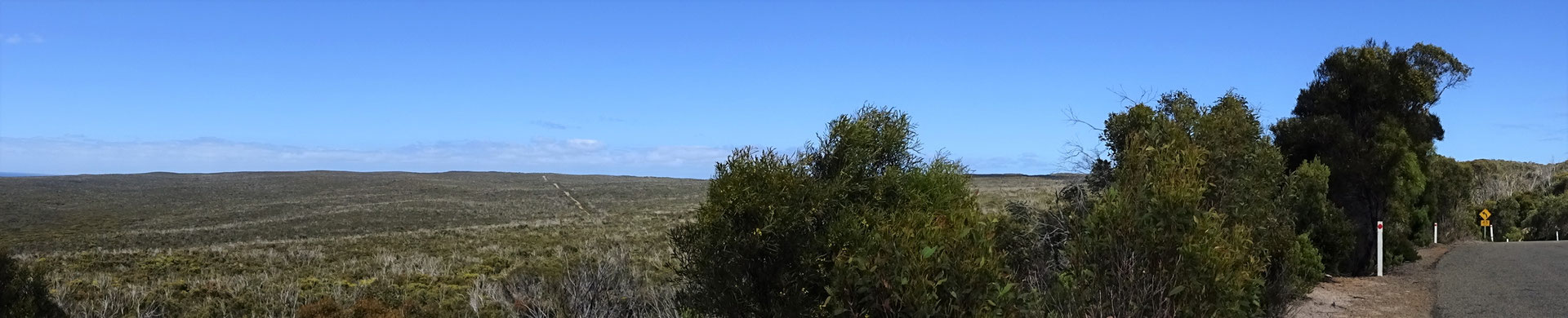 Die Buschlandschaft des Flinders Chase Nationalparks.