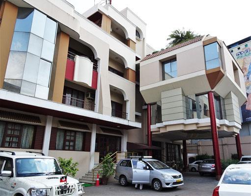 Unser Hotel Gnanam in Thanjavur...