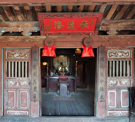 Der Tempel in der Mitte......