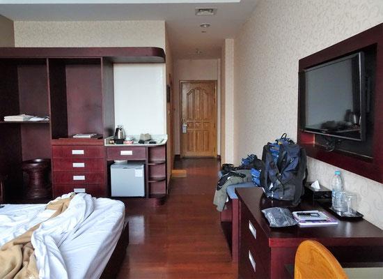 ...unserem Zimmer.