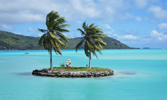 .....geht es auf die Hauptinsel.