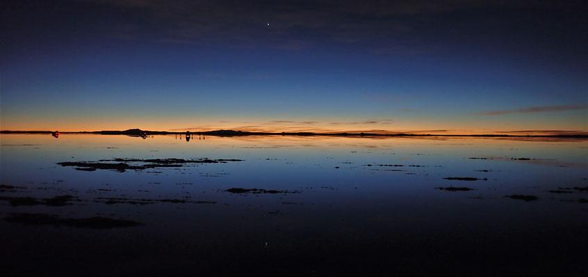 Eindrücklicher Sonnenaufgang......
