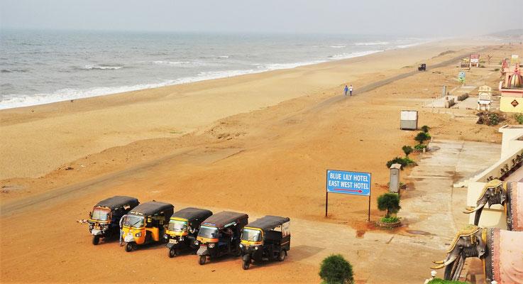 Der Strandblick von.....