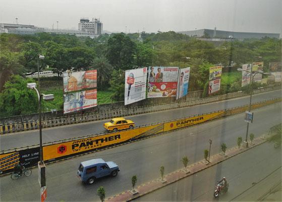 Der Kreis schliesst sich im Ethnotel in Kalkutta.