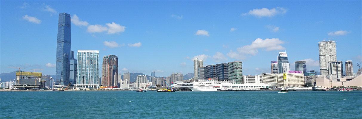 Die Kowloon Seite.