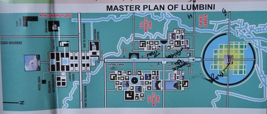 Lumbini Tempelbezirk