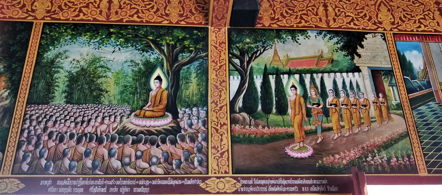 Buddhas Geschichte.....