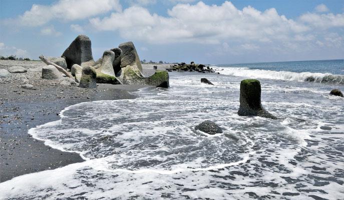 Der Strand in Taitung.....