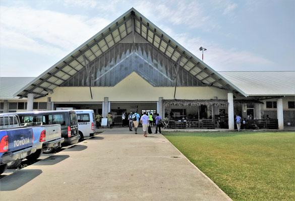 Der Flughafen Santos.....