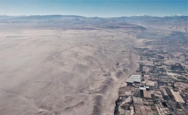 .....das am Rande der Wüste liegt.