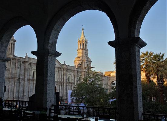 Der Blick auf die Kathedrale.