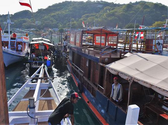 Bootsausflug mit der Alamkita.