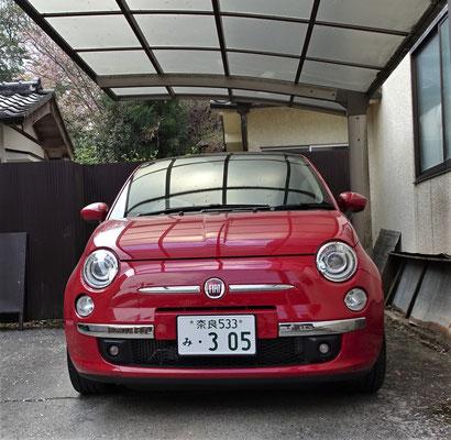 Kaum zu glauben, einen Fiat 500 hier zu sehen.