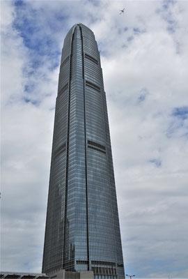 Das Finanzzentrum von Hong Kong.