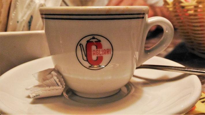 ....und den Espresso.