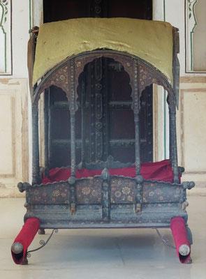Die Sänfte des Maharadscha.