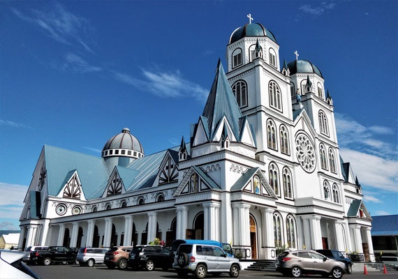 ....der Kathedrale von Apia.