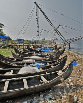 Die kleinen Fischerboote.