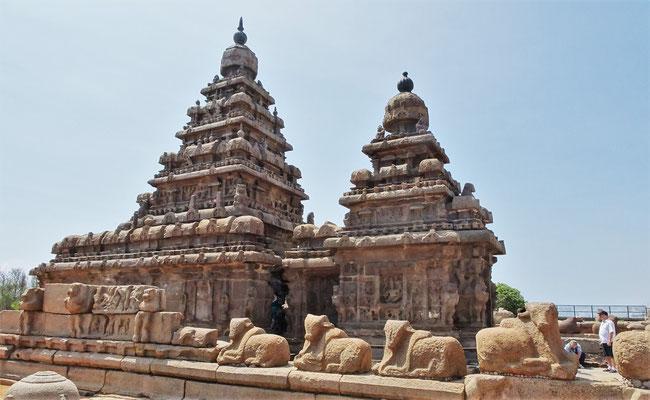 Der Store Tempel aus dem 7. Jh.
