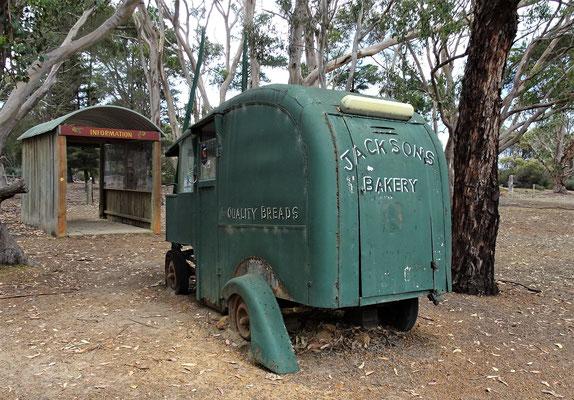 Der alte Bäckerwagen......